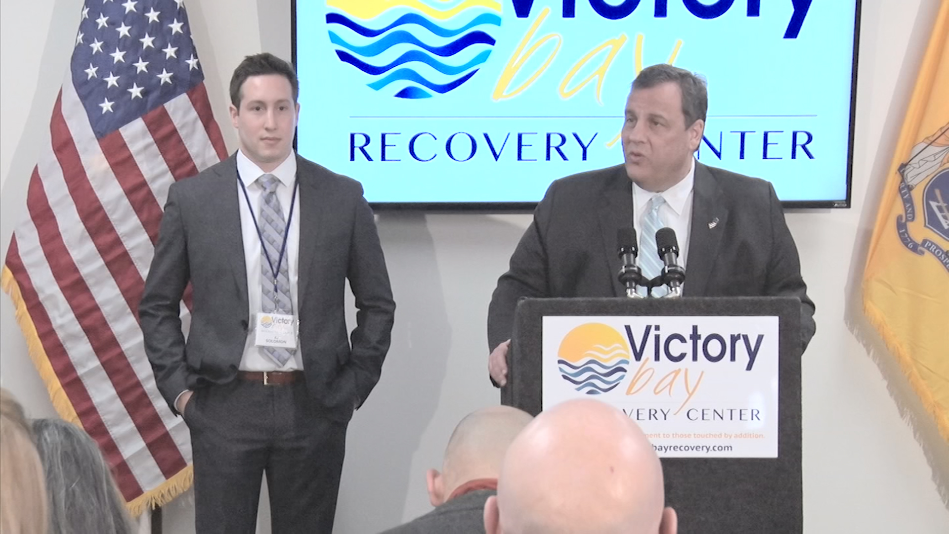 Christie Helps Former Staffer Open Addiction Recovery Center
