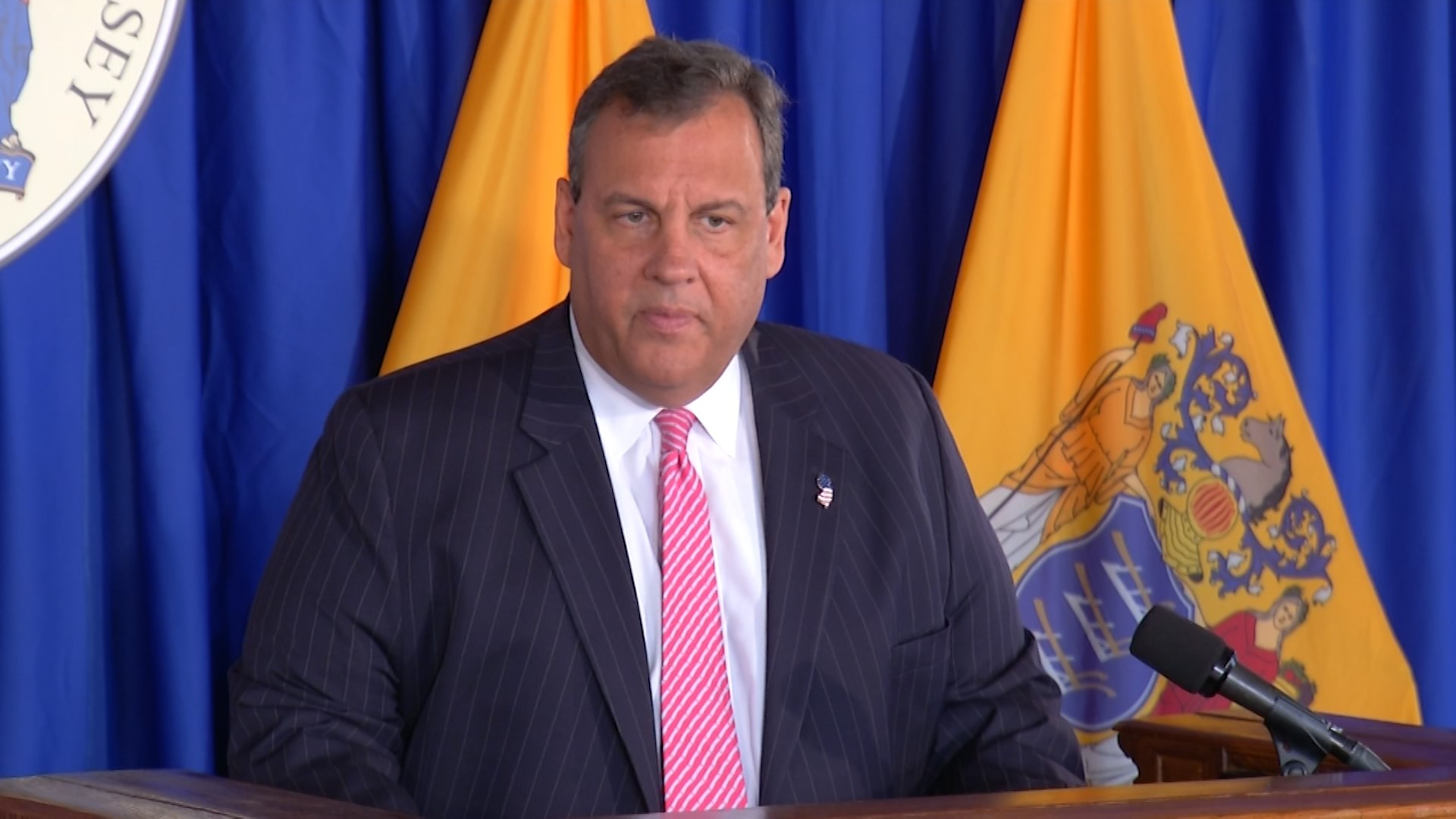 Christie slams Horizon, pushes for drug addiction funding from reserves