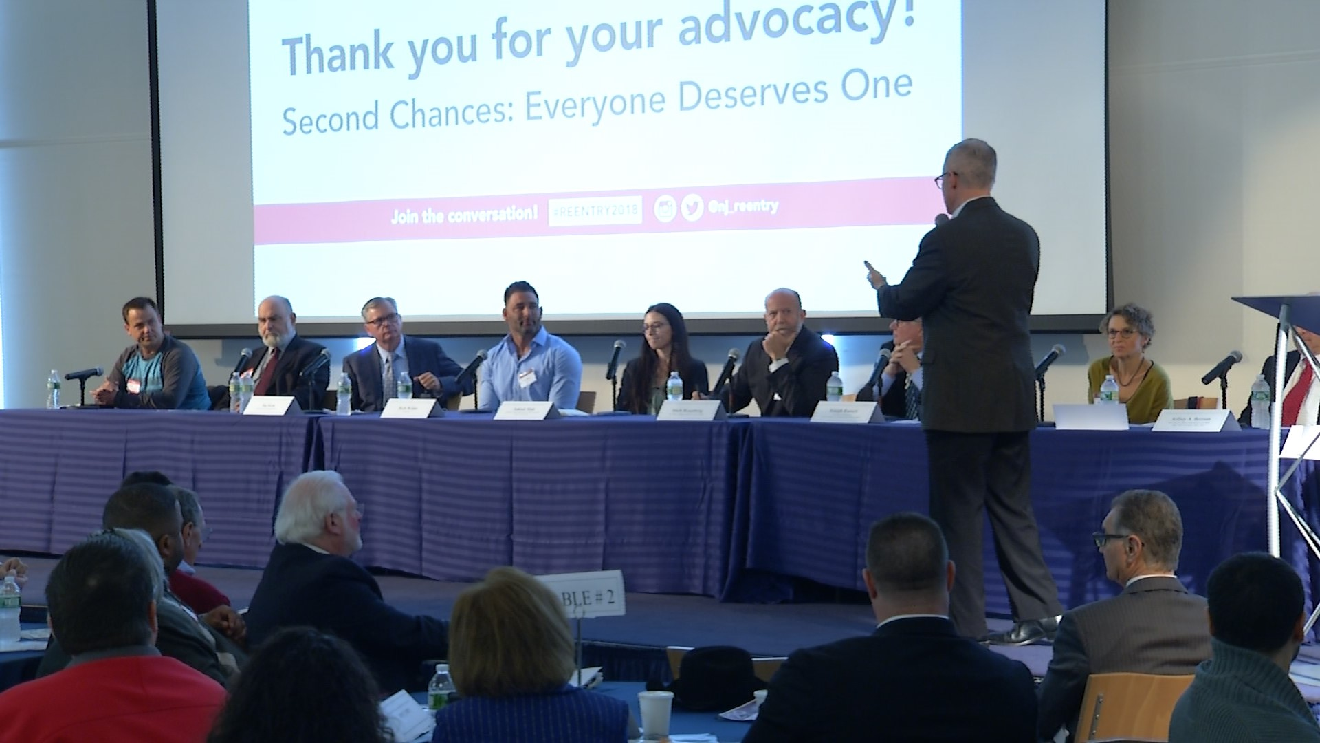 Conference focuses on helping ex-offenders overcome addiction