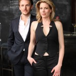 Marin Mazzie & Jason Danieley - photo (Mike Sharkey) chalkboard