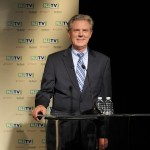 August 5, 2013 –  Congressman Frank Pallone at the U.S. Senate Democratic Primary debate televised on NJTV from Montclair State University in New Jersey. (Joe Sinnott/NJTV)