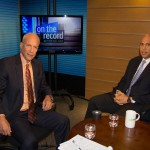 Michael Aron interviews U.S. Senate candidate Cory Booker for On the Record