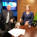 10/18/13 - Democratic candidate for Governor Barbara Buono taped an interview with On The Record with Michael Aron today that will air on NJTV Saturday 10/19 at 2pm and Sunday 10/20 at 10am.