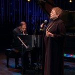 Sandy Stewart and Bill Charlap perform on NJTV's AMERICAN SONGBOOK AT NJPAC series. Photo: NJTV