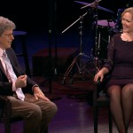 Rebecca Luker is interviewed by Ted Chapin, host of NJTV's AMERICAN SONGBOOK AT NJPAC. Photo: NJTV