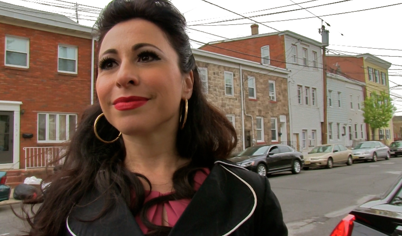 Performer Angie Pontani is featured on NJTV's Driving Jersey. - Angie-Pontani3