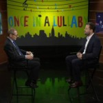 NJTV General Manager John Servidio (left) interviews New Jersey filmmaker Jonathan Kalafer, whose documentary Once In A Lullaby will air as part of the NJDOCS series March 3, 2014 at 9:30pm.