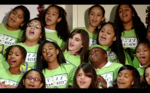 The PS22 fifth-grade chorus performs at their annual Holiday Concert during the 2010-11 school year.