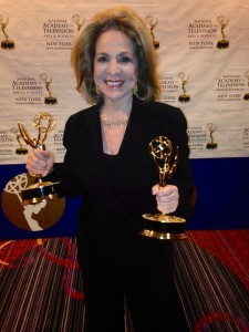 Sandra King accepts NY Emmy Awards for her DUE PROCESS series on NJTV, New Jersey's public television network.  The ceremony was held Sunday, May 30, 2014
