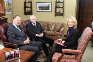 Kent Manahan interviews former NJ Governors Tom Kean and Brendan Byrne for a segment of Governors' Perspectives with Kent Manahan, part of the On the Record with Michael Aron series.