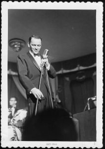 Frank Sinatra performs in July 1960. Credit: Photo credit: Don Altobell.