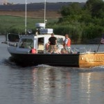 The NY-NJ Baykeeper patrols the Raritan River.